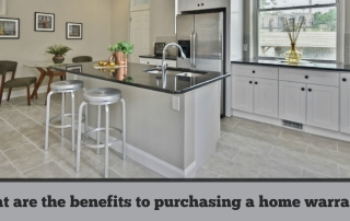 What are the benefits to purchasing a home warranty?