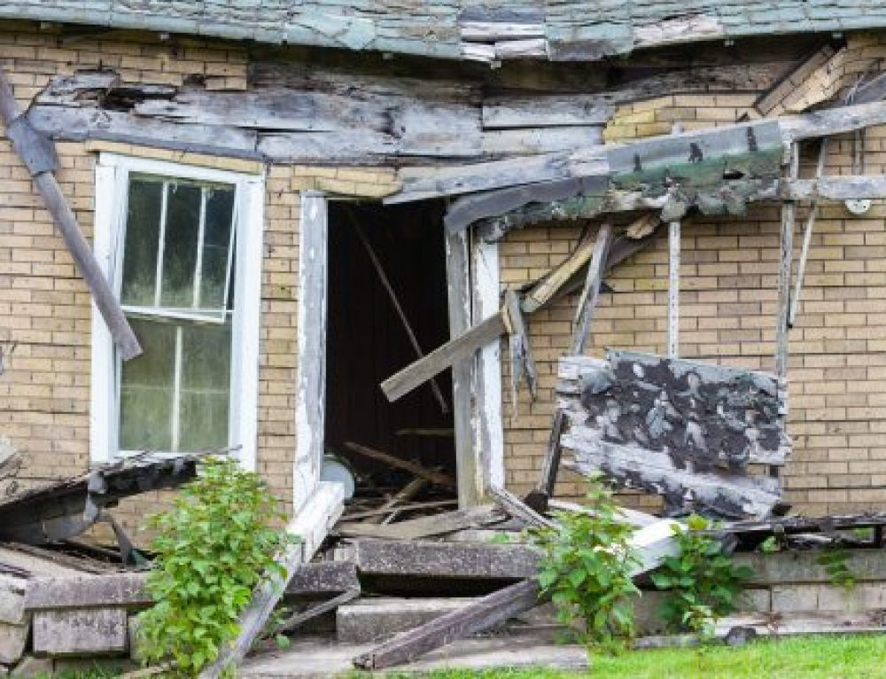 What is a distressed property?